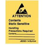 Наклейка-пломба с предупреждением JEDEC-14 ...