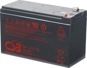 GP1272 F2, Аккумулятор свинцовый 12В-7.2АчВ 151х65х94
