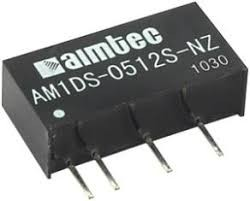 AM1DS-0505SH30-NZ, DC/DC преобразователь, 1Вт, вход 4,5…5,5В, выход 5В/200мА