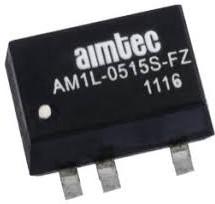 AM1L-2412DH30-FZ, DC/DC преобразователь, 1 Вт; вход 21,6-26,4 В; выход +12, -12 В/±42 мА