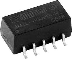 AM1L-0512SH30-NZ, DC/DC преобразователь, 1Вт, вход 4.5…5.5В, выход 12В/80мА