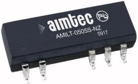 AM1LT-0505S-NZ, DC/DC преобразователь, 1Вт, вход 4.5…5.5В, выход 5В/200мА