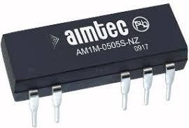 AM1M-0515D-NZ, DC/DC преобразователь 1Вт, вход 4,5…5,5В, выход ±15В/±34мА