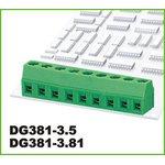 DG381-3.5-03P-14-00AH, Клеммник 3 конт. шаг 3.50 мм ...