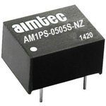 AM1PS-1215S-NZ, DC/DC преобразователь, 1 Вт ...