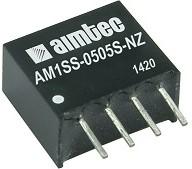 AM1SS-2405S-NZ, DC/DC преобразователь, 1 Вт, вход 21,6-26,4 В, выход 5 В/200 мА