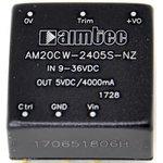 AM20CW-2415DZ, DC/DC преобразователь, 20Вт, Вход 9…36В, выход +-15В/+-0.667А