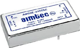 AM20E-2403SZ, DC/DC преобразователь, 18Вт, Вход 18…36В, выход 3,3В/5,5А