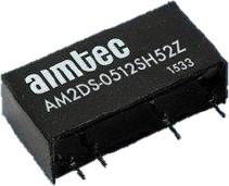 AM2DS-0512SH30-NZ, DC/DC преобразователь, 2 Вт, вход 4,5-5,5 В, выход 12 В/167 мА