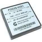 FDD25-12S3, DC/DC преобразователь, 30Вт, Uвх=36 - 72В ...