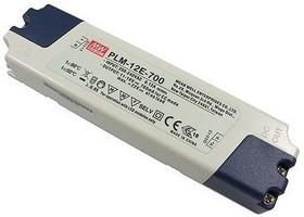 Фото 1/2 PLM-12E-700, AC-DC LED, 12.6Вт, выход 700мА/11…18В
