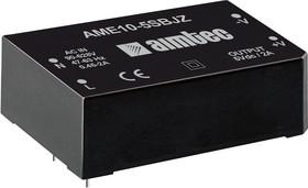 AME10-24SJZ, AC/DC преобразователь, 10 Вт, 24 В /450 мА
