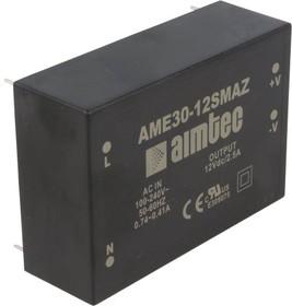 AME30-5DMAZ, AC/DC преобразователь, 30Вт, ±5В/±3А