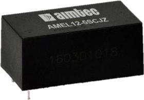 AMEL12-5SCJZ, AC/DC преобразователь, 12 Вт, 5 В /2400 мА