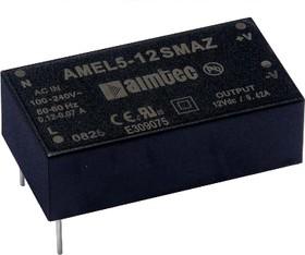 AMEL5-3.3SAZ, AC/DC преобразователь, 5 Вт, 3.3В/1.5А