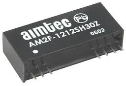 AM2F-0505SH30Z, DC/DC преобразователь, 2Вт, вход 4.5…5.5В, выход 5В/400мА