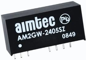 AM2GW-4815SZ, DC/DC преобразователь, 2Вт, вход 18…72В, выход 15В/133мА