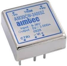 AM30CW-2412SZ, DC/DC преобразователь, 30 Вт; вход 9..36 В; выход 12 В/2500 мА