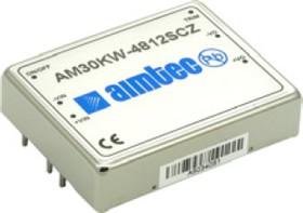 AM30KW-4824SIZ, DC/DC преобразователь 30 Вт, вход 18-75 В, выход 24 В / 1250 мА