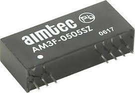 AM3F-0515SH30Z, DC/DC преобразователь, 3Вт, вход 4.5…5.5В, выход 15В/200мА