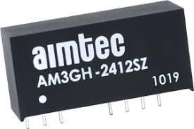 AM3GH-1205DZ, DC/DC преобразователь, 3Вт, вход 4,5…18В, выход ±5В/±300мА