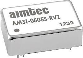 AM3T-0515S-RVZ, DC/DC преобразователь, 3 Вт, вход 4,5-9 В, выход 15 В/200 мА