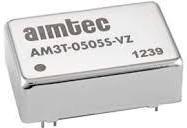 AM3T-1207S-VZ, DC/DC преобразователь, 3Вт, вход 9…18В, выход 7.2В/417мА