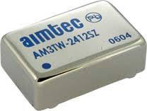 AM3TW-2409SZ, DC/DC преобразователь, 3Вт, вход 9…36В, выход 9В/330мА