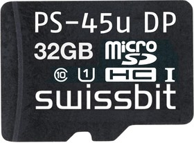 Фото 1/3 SFSD032GN3PM1TO- I-HG-020-RP0, 32GB MICROSD CARD, RASPBERRY PI
