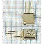 Фильтр кварцевый 10.7МГц 4-го порядка, состоящий из двух фильтров с полосой ...