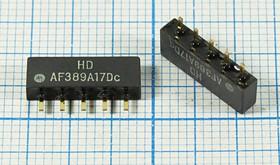 Фильтр на ПАВ 38.9МГц, телевизионный ф 38900 \пол\\SIP5D\5P\ HDAF389A17Dc\BG/DK/MN\SDE