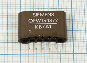Фильтр на ПАВ 38.9МГц, телевизионный ф 38900 \пол\\SIP5L\5P\ OFWG1872KB/A1\BG\SIEMENS