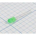 Фото 2/2 Светодиодный модуль зелёный 5x9мм, 12В/45мкд с окрашенной линзой и углом 12 град СД модуль 12В\зел\\ 45мкд\12\\5x9\ BR-BX1134-12V\