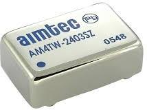 AM4TW-2415S-RVZ, DC/DC преобразователь, 4 Вт, вход 9-36 В, выход 15 В/266 мА