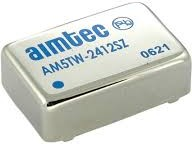 AM5TW-4815S-RZ, DC/DC преобразователь, 5Вт, вход 18…72В, выход 15В/330мА