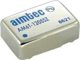 AM6T-1209SZ, DC/DC преобразователь, 6 Вт, вход 9-18 В, выход 9 В/660 мА