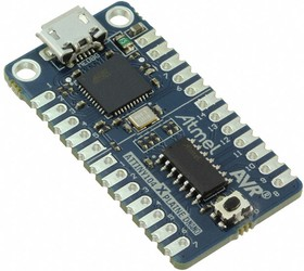 Фото 1/3 ATTINY104-XNANO, Отладочная плата на базе ATtiny104, Xplained Nano, встроенный программатор