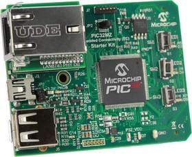 DM320006, Отладочная плата для оценки возможностей MCU семейства PIC32MZ EC