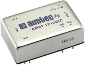 AM8T-4805SIZ, DC/DC преобразователь, 8Вт, вход 36…72В, выход 5В/1.6А