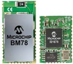 BM78SPPS5MC2-0002AA, Встраиваемый модуль Bluetooth 4.2 класса 2, 32КБ/с, чувствительность -90дБм