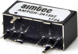 AM9GH-2409SZ, DC/DC преобразователь, 9 Вт, вход 9-36 В, выход 9 В/1000 мА