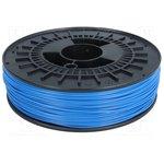 3DK-ABSM-1.75-SKY, Филамент M-ABS, голубой, 750г, 1,75мм
