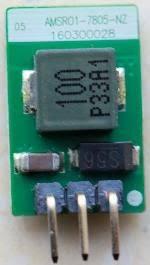 AMSRO1-783.3-NZ, DC/DC преобразователь, 3.3Вт, вход 6-36В, выход 3.3В/1000мА