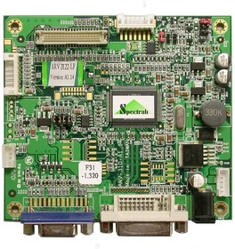 ARV-3122, AD конвертер, DVI, RGB, TTL