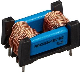 FWFCC1614-100L160C, 10 мГн, 1.6 А, 430 мОм, 24.5*14.5*13.5мм, Дроссель подавления помех