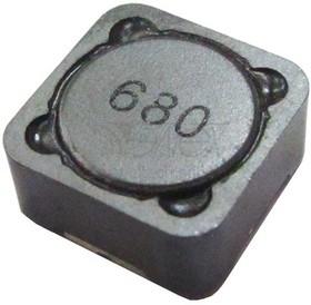 SCDS127T-100M-N, 10 мкГн, 0.0216 Ом, 5.4 А, 20%, 12.5*12.5*8.0мм, Индуктивность SMD