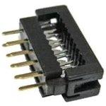 IP0110-H-CN (FDC-10), Разъем IDC-DIP 10 конт.(2x5) 2.54x2.54 мм ...