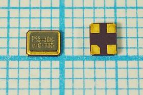 кварцевый резонатор 16.384МГц в корпусе SMD 3.2x2.5мм, россыпь, 16384 \SMD03225C4\12\ 15\ /-20~70C\\1Г (P16.38M)
