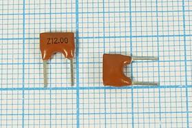 Керамические резонаторы 12МГц с двумя выводами, 12000 \C07x5x08P2\30\ 5000\\ZTA12,0MX\2P
