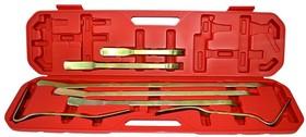 Набор WIEDERKRAFT WDK-65039 рихтовочных лопаток в пласт кейсе
